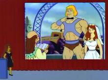Brooke shields anuncia he-man