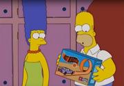 Homer Hot Wheels