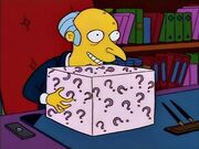 Mr Burns - the box