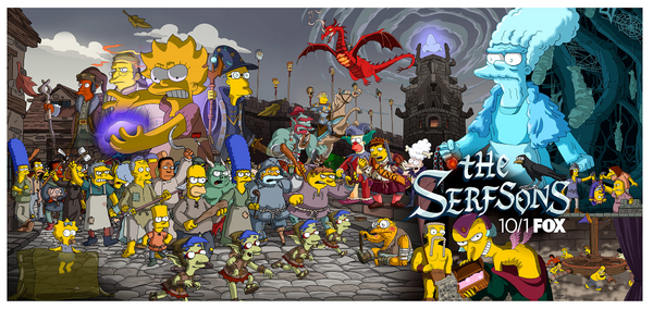 The serfsons promo banner