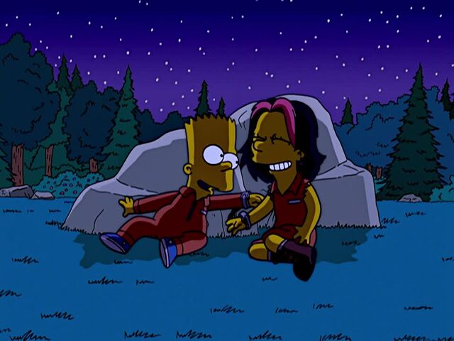 File:Bart and Gina Pinching Each Other.JPG