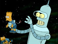 Bender Has a Bart Doll