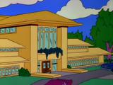 Kent Brockman's mansion
