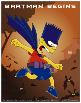 Game Bartman Begins