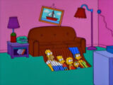 Shredder couch gag