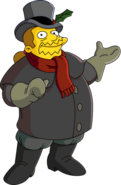 Festivus Comic Book Guy Tapped Out