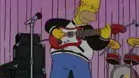 Guns 'N' Homer-Sweet Child O Mine