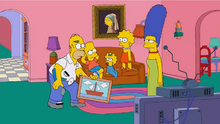 Missing Sailboat Couch Gag