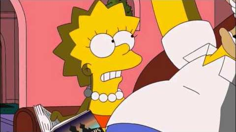 THE SIMPSONS - Lisa Reads to Homer Preview from