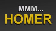 Xxviii MMM...Homer title card