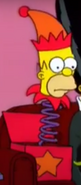 Homer as a Jack-in-the-box