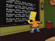 Miracle on Evergreen Terrace Chalkboard Gag
