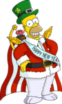 Tapped outHoliday Homer