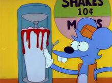 Comichão milk shake