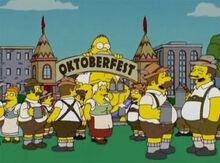 Homer monstro oktoberfest