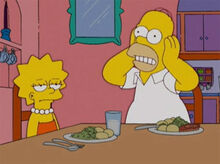 Lisa homer insuportável