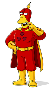 Wolfcastle as Radioactive Man