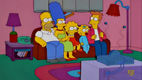 Fry Couch Gag