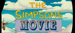 The Simpsons Movie Title Screen Gag