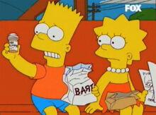 Bart lisa lanche homer