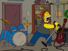 Homer 24 rock n roll