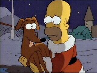 Aiutante Di Babbo Natale.Piccolo Aiutante Di Babbo Natale Simpsons Italia Fandom
