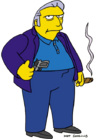 The Simpsons-Fat Tony
