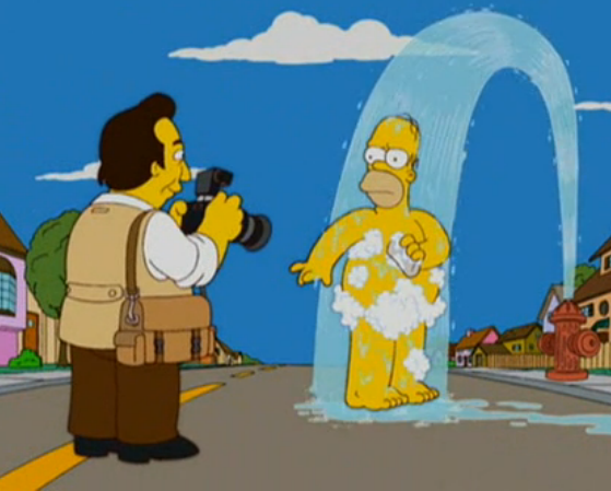 Stars Naked Pictures Of The Simpsons Gif