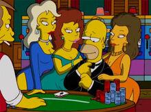 Homer pensa vegas mulheres