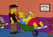 Comic Book Guy at the hospital