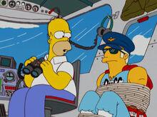 Homer amarra duffman dirigivel
