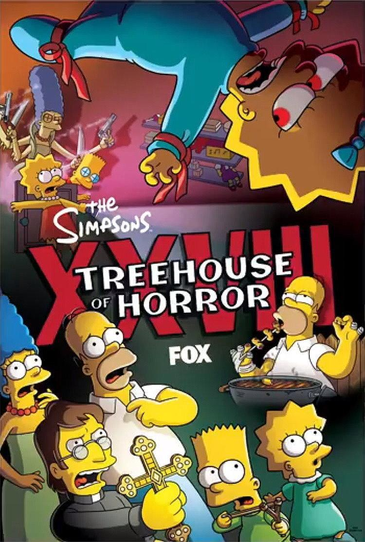 treehouse of horror xxiii online legendado
