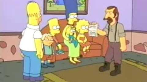 Bart vs. Australia Rare Deleted Footage for The Simpsons Down Under