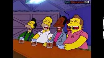 """The Simpsons - """"I won't drink at Moe's"""""""