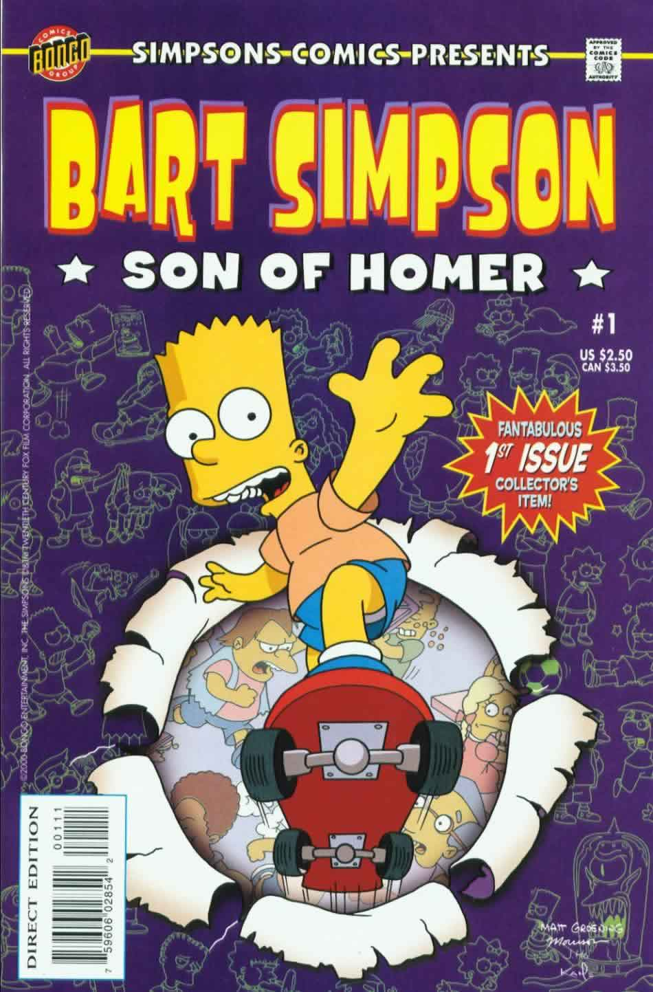 The Simpsons Comic Book
