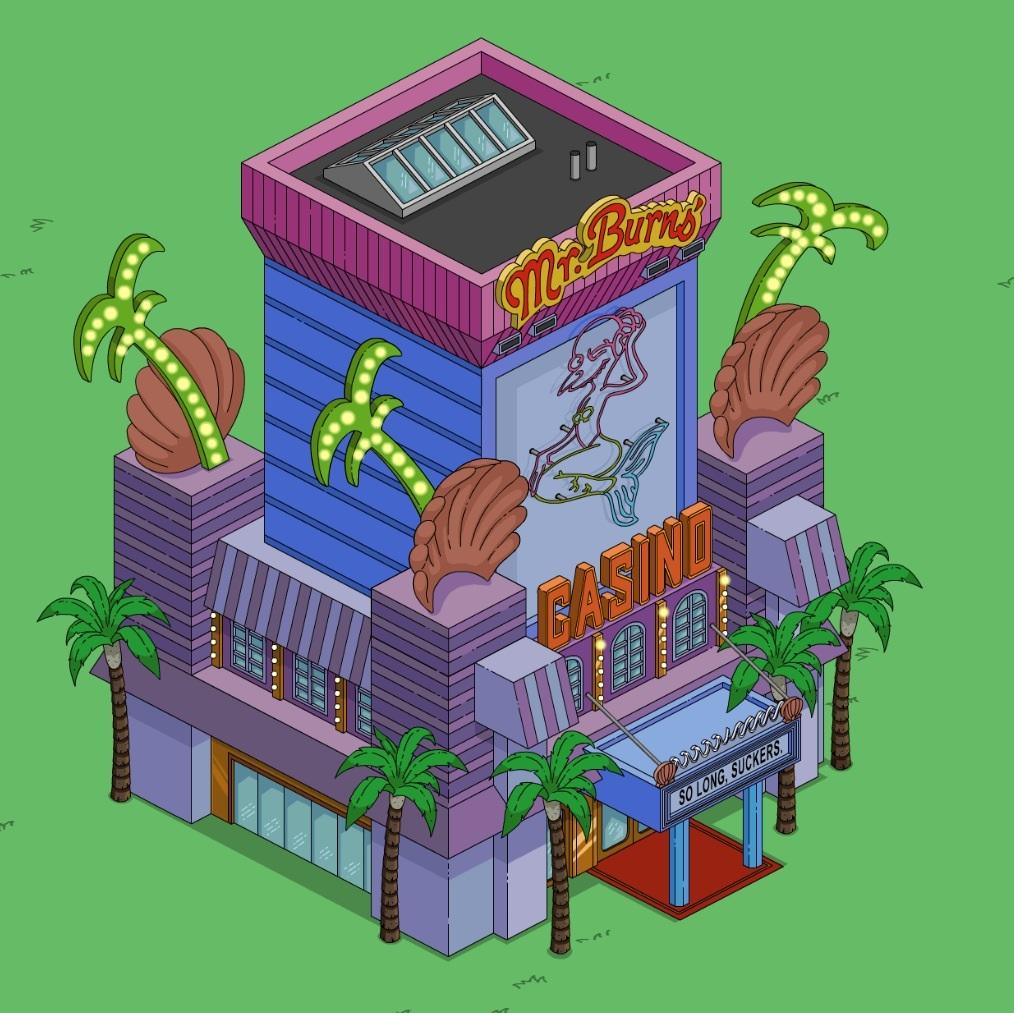 Simpsons Casino