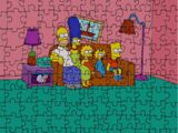 Jigsaw Puzzle couch gag