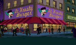 Krusty Burger Parigi