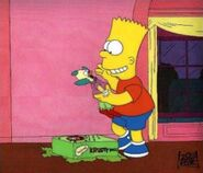 Krusty doll and bart