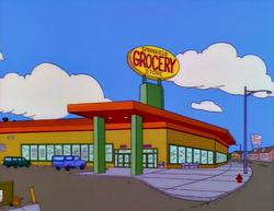 Sklep Spożywczy w Springfield