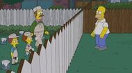 "THE SIMPSONS Reorder That Border from ""Bull-E"" ANIMATION on FOX"
