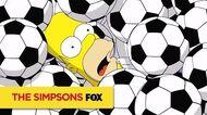 THE SIMPSONS Soccer ANIMATION on FOX
