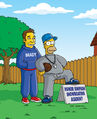 Homer and Ned's Hail Mary Pass (Promo Picture) 3