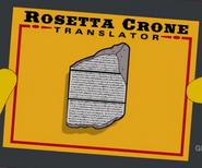 Rosetta Crone Translator