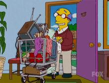 Kirk volta coisas casa