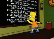 Simpsons-gun