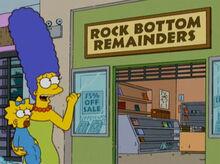Marge loja livros rock bottom