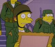 Burns jako żołnierz