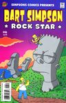 Bart Simpson-Rock Star