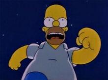 Homer vou morrer corre marge